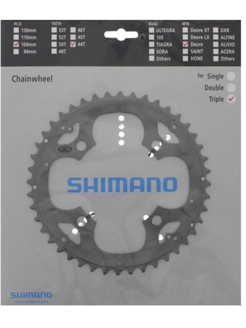 Shimano Deore FC-M590 Kettenblatt für KSR 9-fach grau